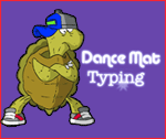 Dance Mat Typing Logo